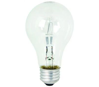 Feit Electric Q43A/CL/2 Halogen Lamp, 43 W, Medium E26 Lamp Base, A19 Lamp, Soft White Light, 750 Lumens