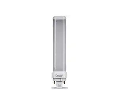Feit Electric PL26E/H/841/LED Led Bulb, 26 W Equivalent, Gx24q-3 Lamp Base, Cool White Light, 4100 K Color Temp