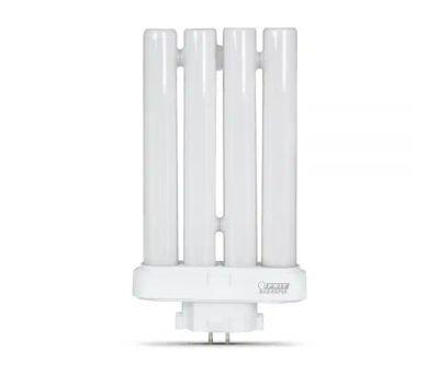 Feit Electric BPPL27F/65K Enhance 27 Watt Daylight 4 Pin Compact Fluorescent Light Bulb 6500K