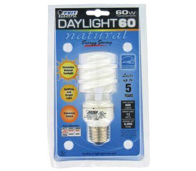 Feit Electric BPESL13T/D 13 Watt Daylight Mini-Twist Compact Fluorescent