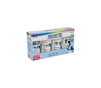 Feit Electric ESL23TM/D/4 23 Watt Compact Fluorescent Daylight 4 Pack