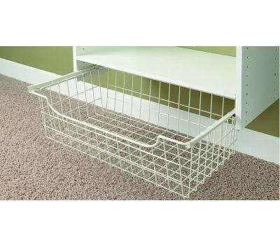 Stow 1308 Basket Wire White 24 Inch X 8 Inch