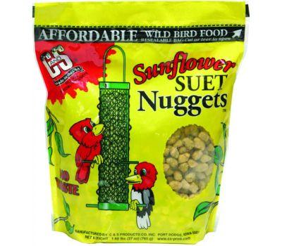 C&S CS06110 Suet Nuggets Sunflower 27 Ounce