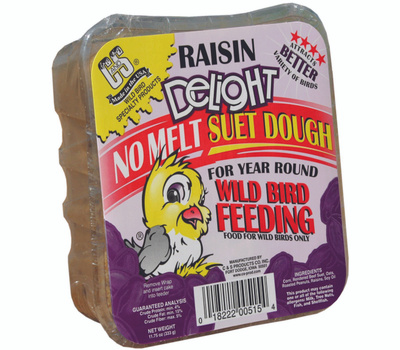 C&S CS12515 Suet Dough Rsin Delght 11.75 Ounce