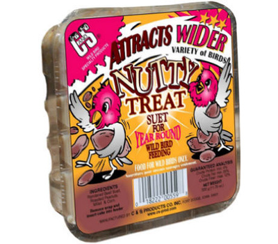 C&S 12559 11 3/4 Ounce Nutty Suet Cake