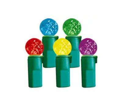 Hometown Holidays 2339/U14E320D LED Light Set Multi Color 70Ct