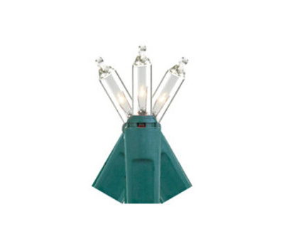 Hometown Holidays 2652-02/U04Z008D Icicle Light Set, 2.5 V, 300 Pcs -Lamp, Clear Light, 21 Ft L