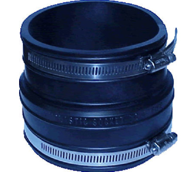 Fernco P1060-33 3 Inch Socket To Plastic Socket Coupling