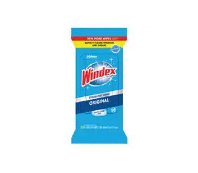 SC Johnson 00296 Windex Colormaxx Cleaning Original Wipes, Ammoniacal Pleasant