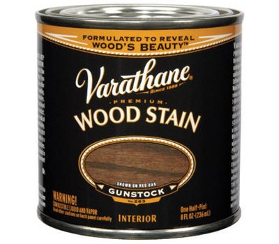 Varathane 211805 Gunstock Premium Oil Interior Wood Stain 1/2 Pint