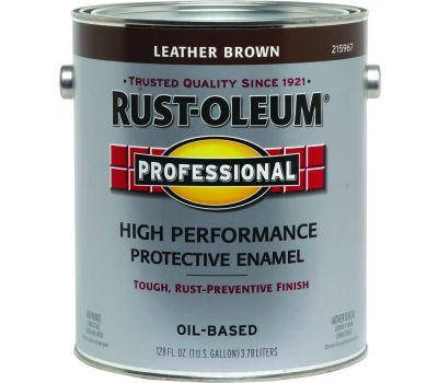 Rust-Oleum 215967 Professional Leather Brown High Performance VOC 400 Gallon Alkyd Enamel