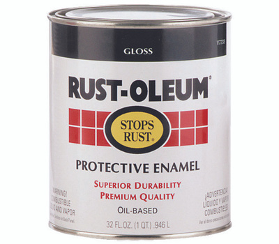Rust-Oleum 215968 Professional Flat White High Performance VOC 400 Gallon Alkyd Enamel