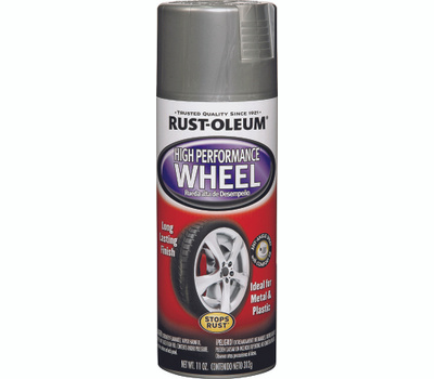 Rust-Oleum 248927 Auto Coatings Steel High Performance Wheel Coating 11 Ounce Spray