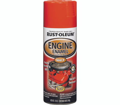 Rust-Oleum 248947 Auto Coatings Chevrolet Red Orange Engine Enamel Spray