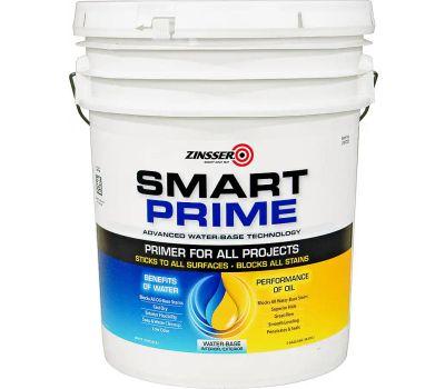 Zinsser 249728 Smart Prime High Performance Primer Water-Based 5 Gallon