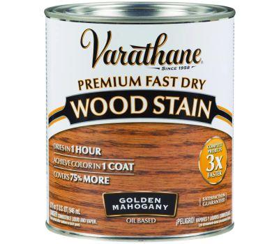 Varathane 262014 Stain Wood Int Mahogany Qt
