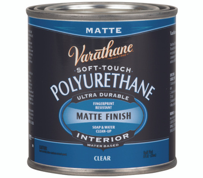 Varathane 262075 Poly Finish Soft Touch 1/2Pt
