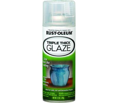 Rust-Oleum 264985 Specialty Clear Triple Thick Glaze 12 Ounce Spray
