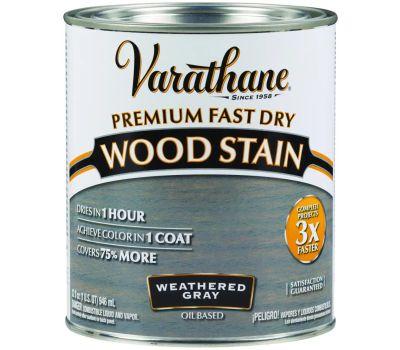 Varathane 269394 Stain Wood Int Wthrd Gray Qt