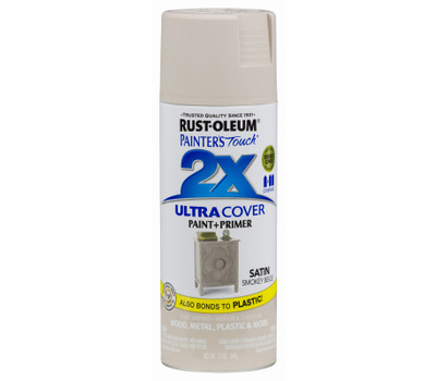 Rust-Oleum 299883 Painters Touch 2X Ultra Cover Paint + Primer Smokey Beige Satin Spray