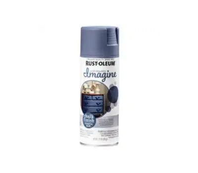 Rust-Oleum 353730 Imagine Craft & Hobby Spray Paint, Chalk, Coastal Blue, 12 Ounce, Can