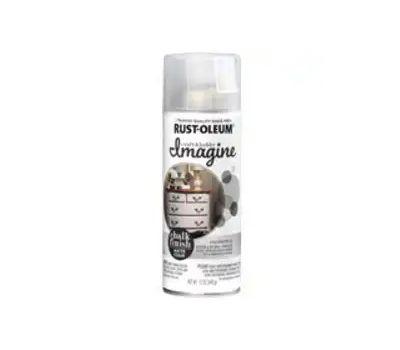 Rust-Oleum 353738 Imagine Craft & Hobby Spray Paint, Chalk, Clear, 12 Ounce, Can