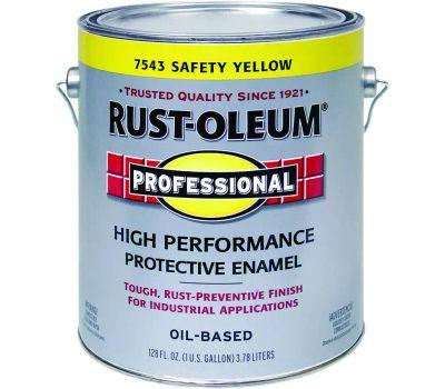 Rust-Oleum 7543402 Professional Safety Yellow High Performance Gallon Alkyd Enamel