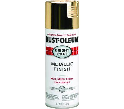 Rust-Oleum 7710830 Gold Metallic Finish 11 Ounce