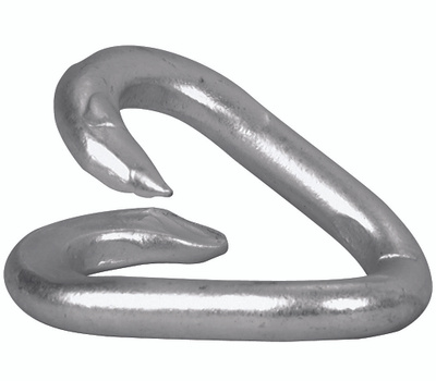 Campbell Chain T5950324 Repair Lap Link 1/4 By 1-1/4 Inch Zinc Plated Steel