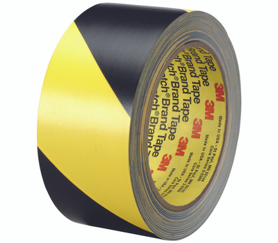 3M 5702 Scotch Safety Stripe Tape Black And Yellow 2 Inch By 36 Yards