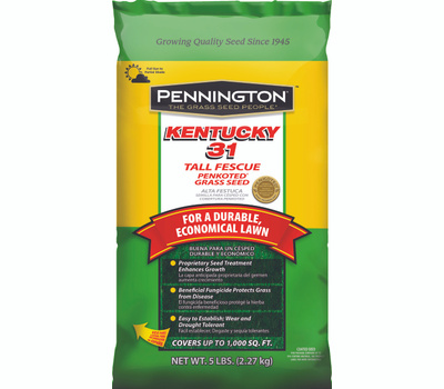 Pennington Seed 100516050 Penkoted Grass Seeds, 5 Pound