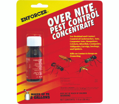 Zep ONC1 Enforcer Over Nite Pest Control Concentrate 1 Ounce