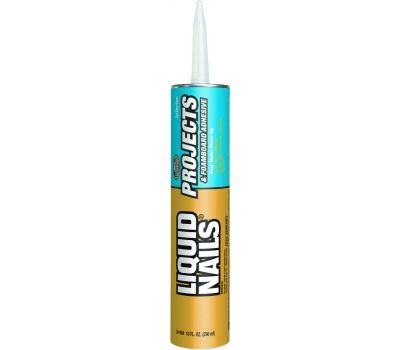 Liquid Nails LN-604 Construction Adhesive Project/Foamboard 10 1/2 Ounce