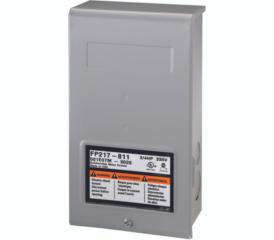 Pentair P217-810-2801054915 Flotec 1/2 Horsepower Well Pump Control Box