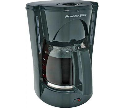 Proctor Silex 48524RY 12 Cup Black Coffeemaker