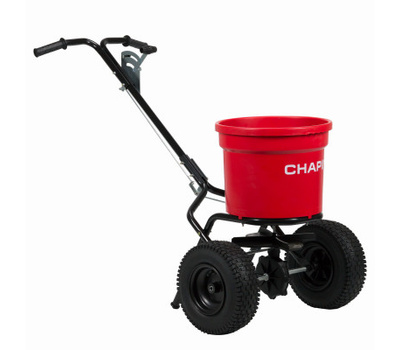 Chapin 82050C Contractor Turf Spreader, 70 Pound Capacity, Steel Frame, Pneumatic Wheel