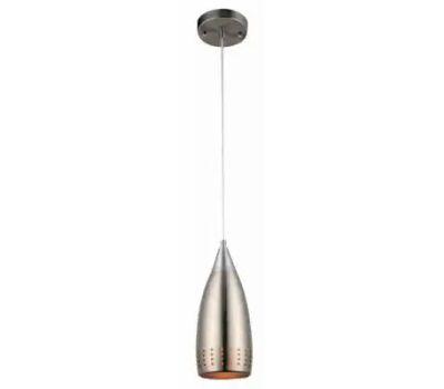 Westinghouse 61013 00 Adjustable Mini Pendant, 1-Lamp, Brushed Nickel Fixture