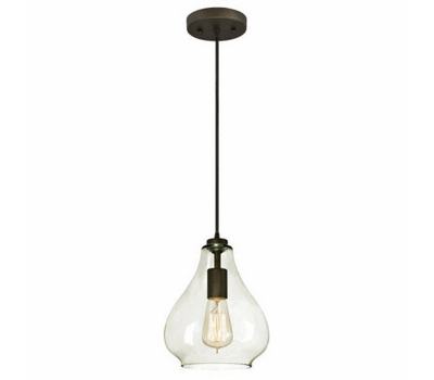 Westinghouse 61026 00 Adjustable Mini Pendant, 1-Lamp, Oil-Rubbed Bronze Fixture