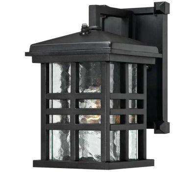 Westinghouse 62045 Caliste 00 Outdoor Wall Lantern, Aluminum Fixture, Textured Black Fixture