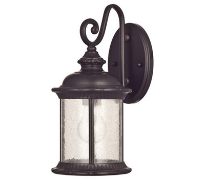 Westinghouse 62306 00 New Haven Wall Lantern, 120 V, 100 W, Incandescent, Led Lamp, Steel Fixture
