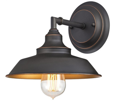Westinghouse 63448 00 Wall Fixture, 120 V, 1-Lamp, Led Lamp, Oil-Rubbed Bronze Fixture