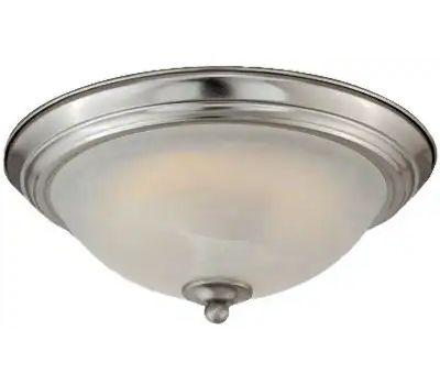 Westinghouse 64005 00 Flush Mount Ceiling Fixture, 120 V, 15 W, Led Lamp, 930 Lumens, 3000 K Color Temp