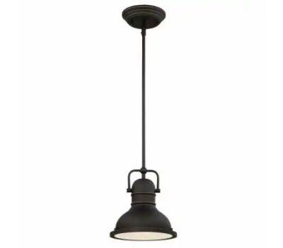 Westinghouse 63082A Mini Pendant Light, 120 V, 1-Lamp, Led Lamp, 800 Lumens, 3000 K Color Temp