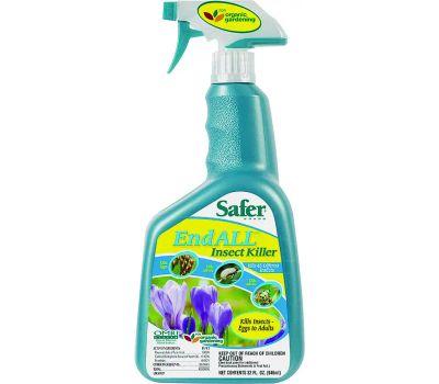 Woodstream 5102-6 Safer End All Insect Killer, Liquid, 32 Ounce Bottle