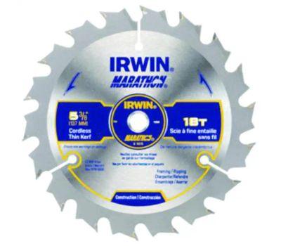 Irwin 14015 Marathon 5-3/8 Inch Framing Rip Circular Blade