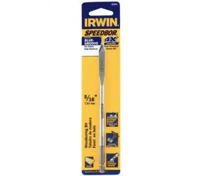 Irwin 88805 Speedbor 5/16 By 6 Inch Flat Wood Boring Spade Bit