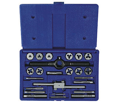 Irwin 26313 Metric Tap And Hex Die Set 24 Piece