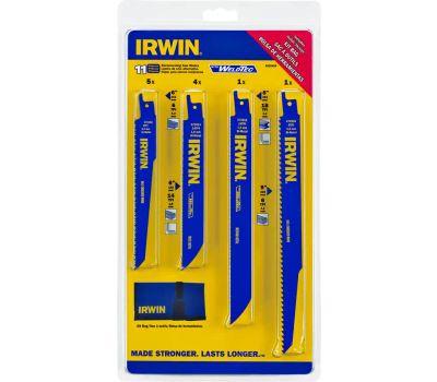 Irwin 4935496 Reciprocating Saw Blade Kit 11 Piece