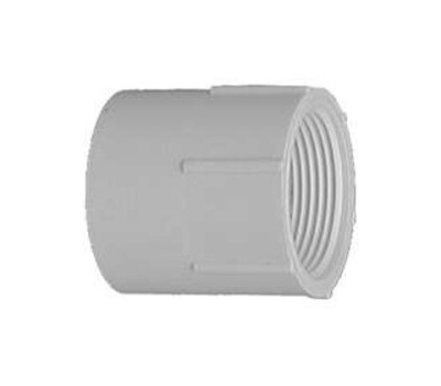 Lasco Fittings 30340 4 Inch PVC Female Adapter Slip X FIP