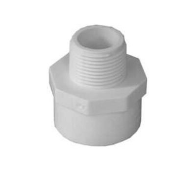 Lasco Fittings 30477 1 By 3/4 Inch Reducing Male Adapter Slip X MIP